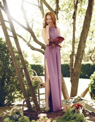 Nicole Kidman na revista Harper's Bazaar