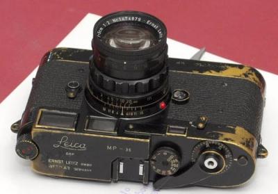 Foi vendida uma Leica MP-36 por mais de 100.000 dolares